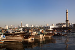 Dubai creek Royalty Free Stock Images