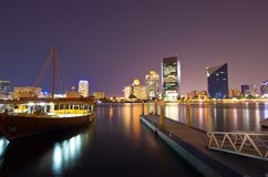 Dubai Creek Photos stock