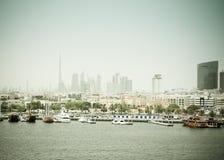 Dubai creek Royalty Free Stock Image