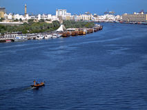 Dubai Creek Stock Image