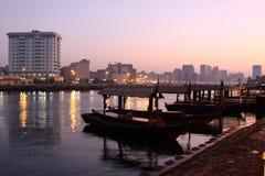 Dubai Creek Images libres de droits