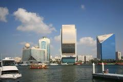 Dubai Creek Photographie stock libre de droits
