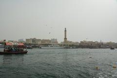 Dubai Creek Fotografía de archivo libre de regalías
