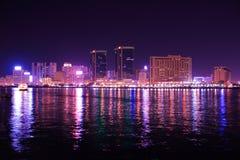 Dubai creek buildings, united arab emirates Stock Image