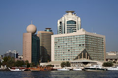 Dubai Creek, Deira City Royalty Free Stock Photo