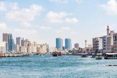 Dubai Creek, Deira, Emirati Arabi Uniti Fotografie Stock