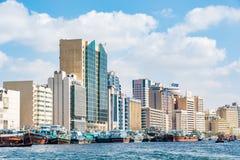 Dubai Creek, Deira, Emirati Arabi Uniti Fotografie Stock Libere da Diritti