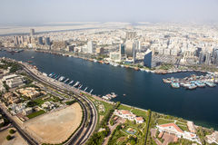 Dubai Creek district, Dubai Royalty Free Stock Image