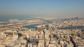 Dubai Creek, distritos do departamento Dubai e Deira vídeos de arquivo
