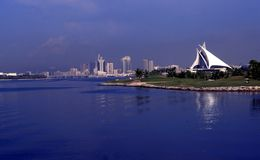 Dubai Creek Golf & Yacht Club Stock Image