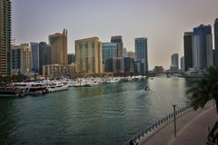 Dubai Creek Luxury and Business Stock Photography