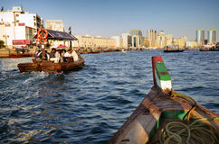 Dubai creek, UAE Royalty Free Stock Images