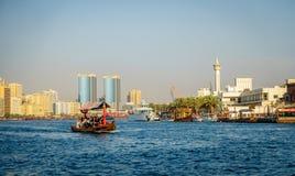 Dubai Creek Royalty Free Stock Photos