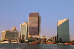 Dubai Creek, United Arab Emirates Stock Images