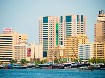 Dubai Creek Royalty Free Stock Photography
