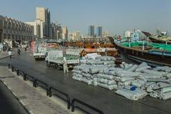 Dubai da baixa Fotografia de Stock
