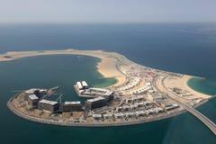 Dubai Daria Island aerial view photography Stock Photo
