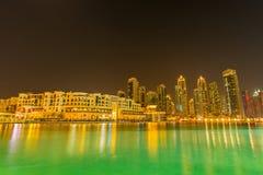 Dubai - 9 de janeiro de 2015: Alma Al Bahar em janeiro Fotos de Stock Royalty Free