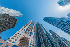 Dubai - 10 de janeiro de 2015: O hotel de Marriot sobre Foto de Stock