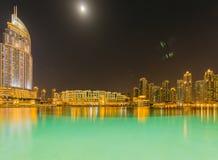 Dubai - 10 de janeiro de 2015: O hotel do endereço sobre Imagens de Stock