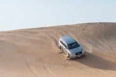 Dubai desert safari Stock Images