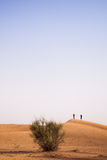 Dubai desert sand dunes Royalty Free Stock Photography