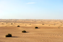 Dubai Desert, United Arab Emirates Royalty Free Stock Photography