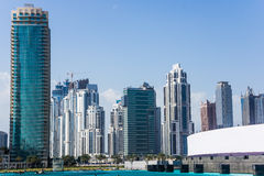 Dubai do centro Imagem de Stock