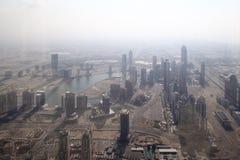 Dubai downtown beautiful city view Stock Photography