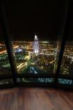 Dubai downtown beautiful city view Royalty Free Stock Photo