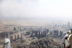 Dubai downtown beautiful city view Royalty Free Stock Image