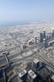 Dubai downtown beautiful city view Royalty Free Stock Photos