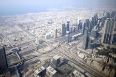 Dubai downtown beautiful city view Royalty Free Stock Photography