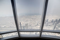 Dubai downtown beautiful city view Stock Photo