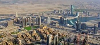 Dubai downtown Royalty Free Stock Images