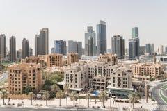 Dubai downtown cityscape Royalty Free Stock Image