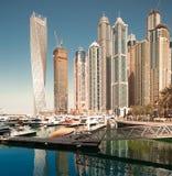 Dubai downtown daytime Stock Photography