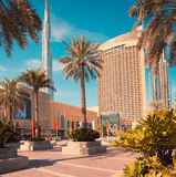 Dubai downtown daytime Royalty Free Stock Images