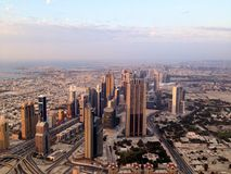 Dubai Downtown District, UAE Royalty Free Stock Photography