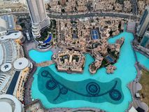 Dubai Downtown District, UAE Royalty Free Stock Images