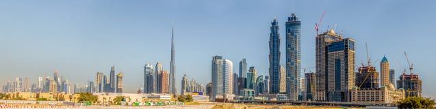 Dubai downtown Royalty Free Stock Photos