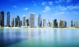 Dubai Downtown Stock Images