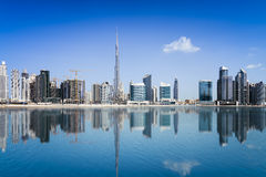 Dubai Downtown Royalty Free Stock Photos