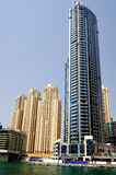 Dubai. Dubai Marina Stock Photography