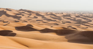 Dubai dunes desert Stock Photography