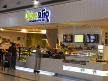 Dubai Duty Free at the International Airport Stock Photography