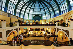 dubai emiratów centrum handlowe fotografia royalty free