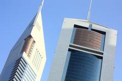 Dubai Emirates Towers Royalty Free Stock Photography