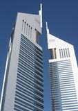 Dubai - emirates towers Royalty Free Stock Images