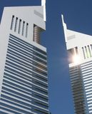 Dubai - emirates towers Royalty Free Stock Photography